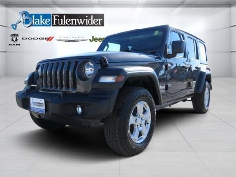 2018 JEEP Wrangler Unlimited Sport