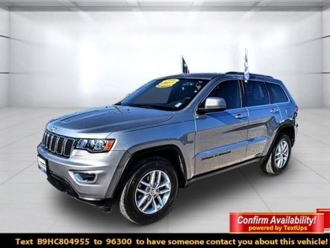 Pre-Owned 2017 Jeep Grand Cherokee Laredo RWD 4D Sport Utility