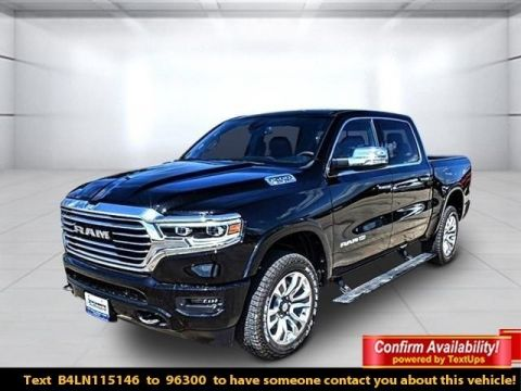 Pre-Owned 2020 Ram 1500 Laramie Longhorn With Navigation & 4WD