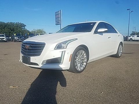 Pre-Owned 2018 Cadillac CTS 3.6L Premium With Navigation & AWD