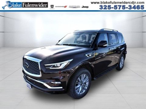 Pre-Owned 2018 INFINITI QX80 Base With Navigation & AWD