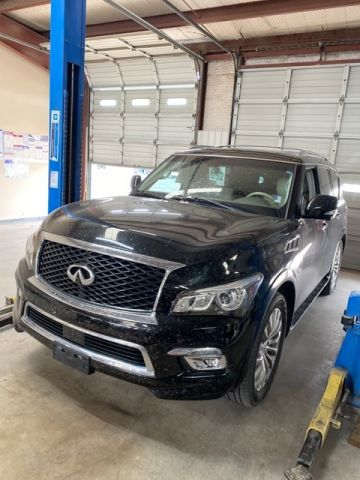 Pre-Owned 2015 INFINITI QX80 Base With Navigation